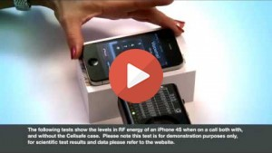Mobile phone radiation test with Cellsafe