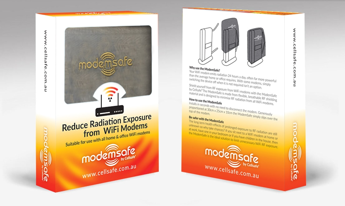 Wi-Fi Modem Radiation Reducing Bag – Suitable for use with