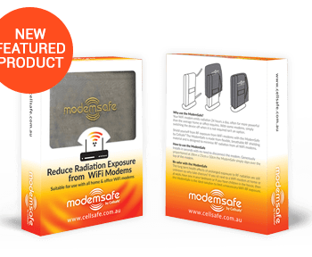 Wi-Fi Modem Radiation Reducing Bag – Suitable for use with all Home and office Wi-Fi Modems