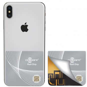 Mobile Phone Radiation Reducing Cellsafe Radi-Chip for <b>iPhone XS, iPhone XR & iPhone XS Max</b>. Reduces SAR by up to 98%*