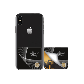 Mobile Phone Radiation Protection - Start Lowering Absorption Today! Cellsafe Radi-Chip for <b>iPhone 8 Plus, iPhone X, iPhone 11, iPhone 11 Pro , iPhone 11 Pro Max</b>. Reduces SAR by up to 99.2%*