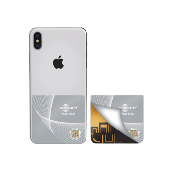 Mobile Phone Radiation Protection Cellsafe Radi-Chip for <b>iPhone XS, iPhone XR, iPhone XS Max</b>. Reduces SAR by up to 98%*