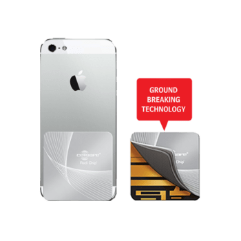 Mobile Phone Radiation Protection - Start Lowering Absorption Today! Cellsafe Radi-Chip for <b>iPhone 5, 5S & SE</b>. Reduces SAR by up to 95%*