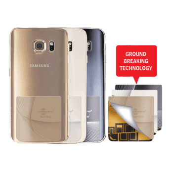 Mobile Phone Radiation Protection - Start Lowering Absorption Today! Cellsafe Radi-Chip for <b>Samsung S6, S6E & S6E+</b>. Reduces SAR by up to 81%*